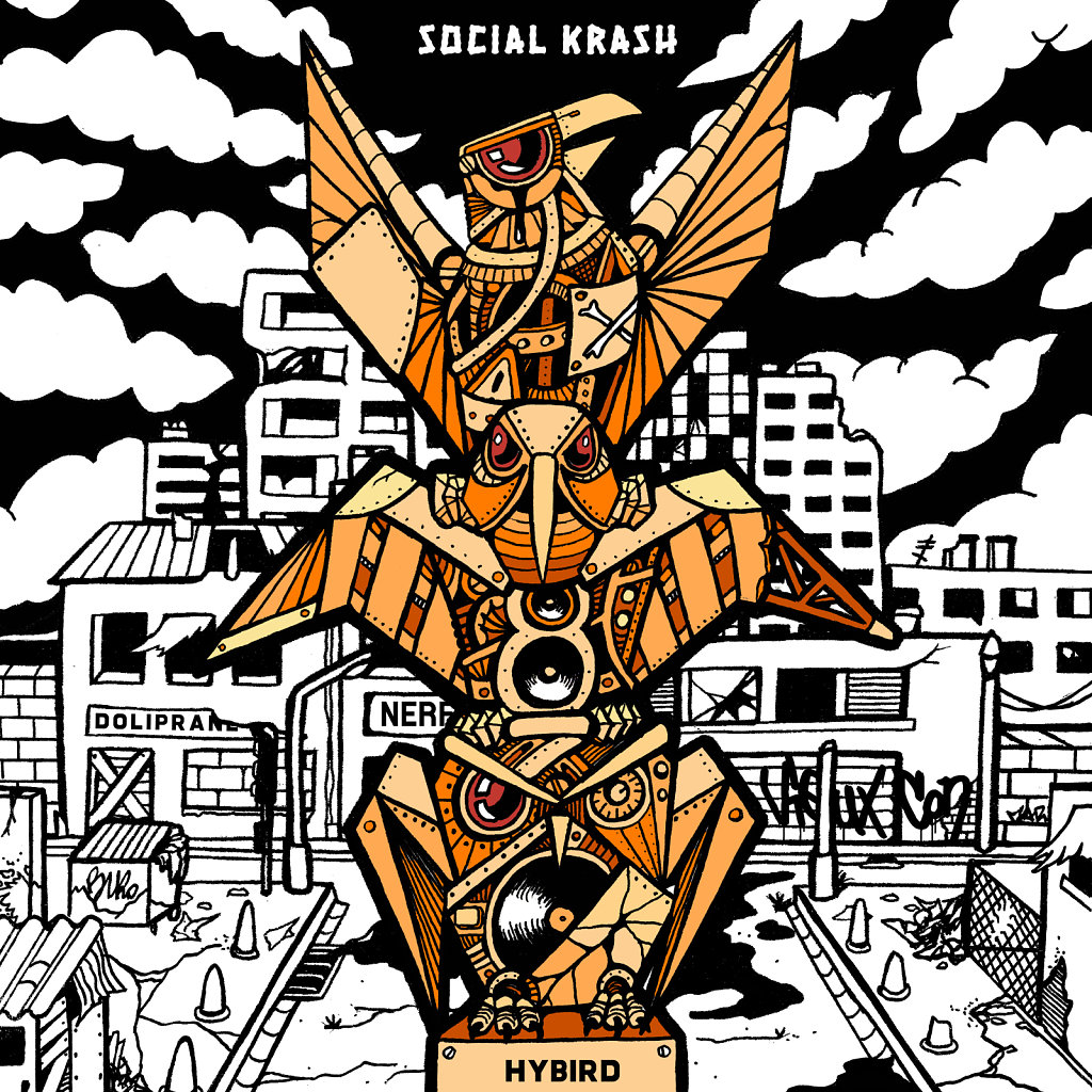 Hybird - Social Krash (Album)